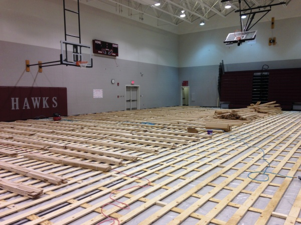 Sports floors blog gym floor chatter sports floors inc for How much to build a basketball gym