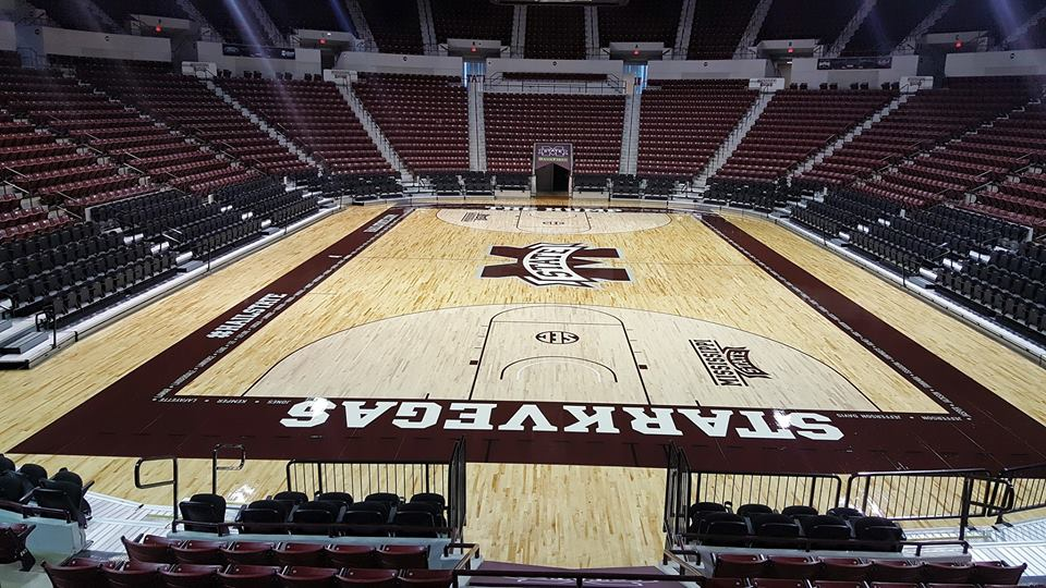 Starkville basketball floor
