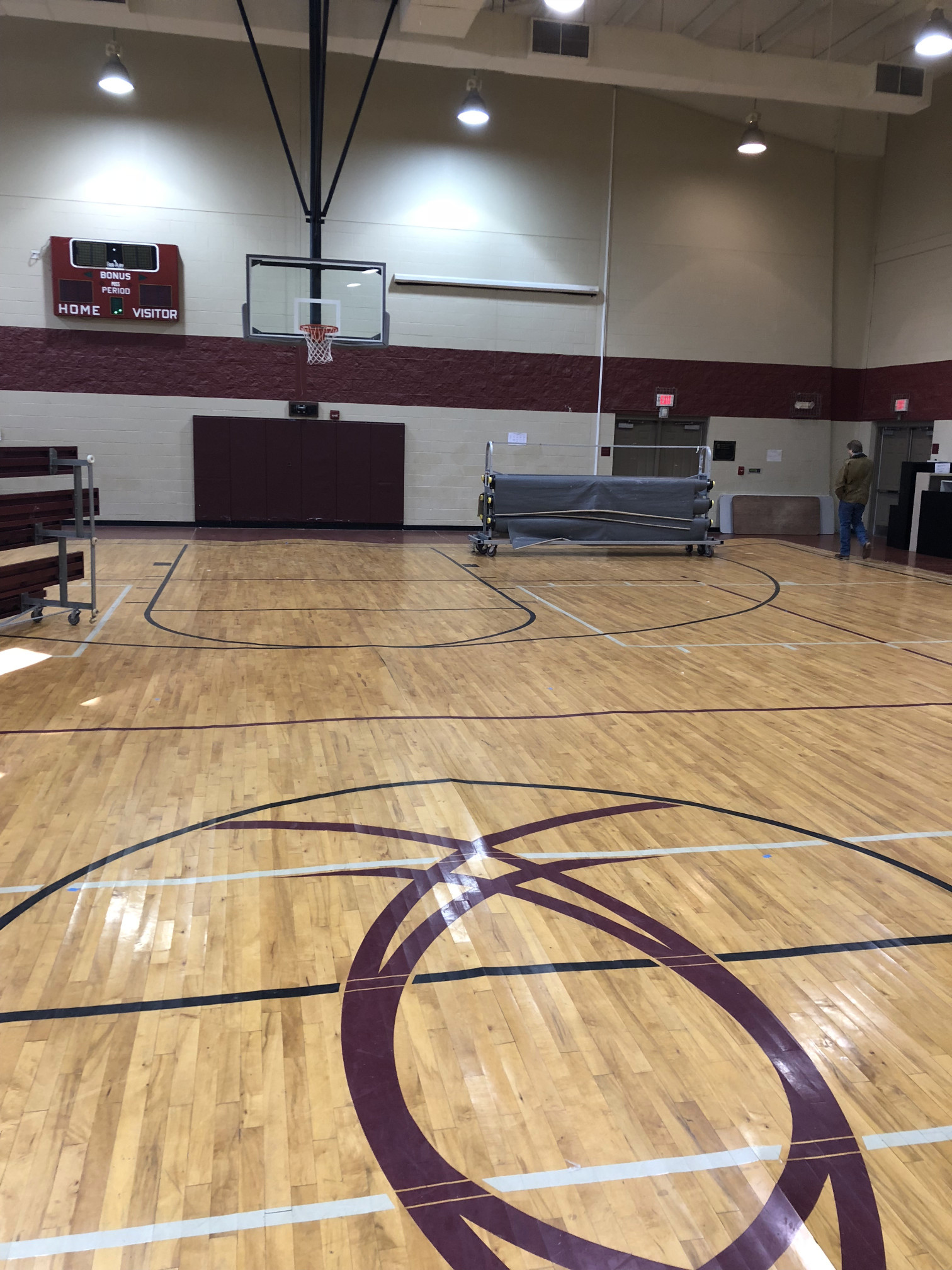 Sports Floors - Emmanuel Center