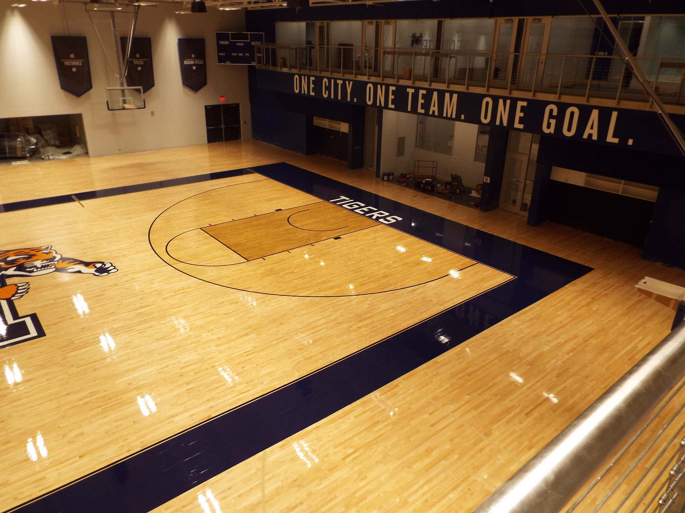 Sports Floors - Walton Practice Facility