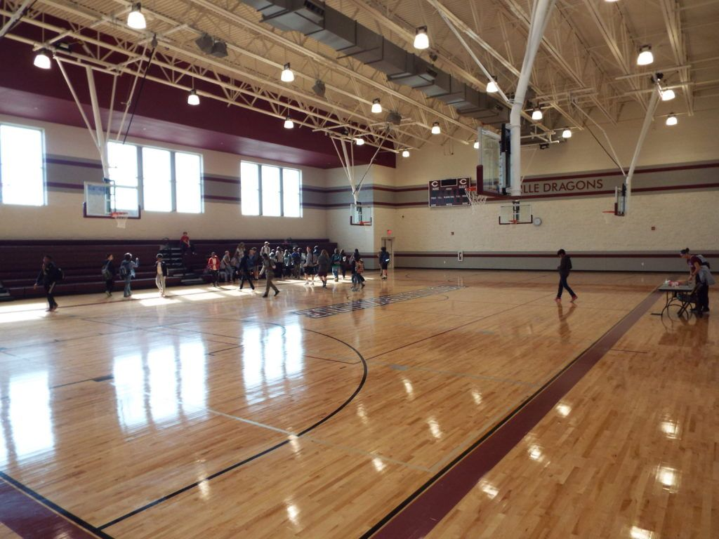Collierville High School Auxiliary Gym 2