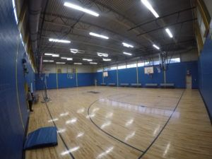 Oak Park Middle Auxiliary Gym