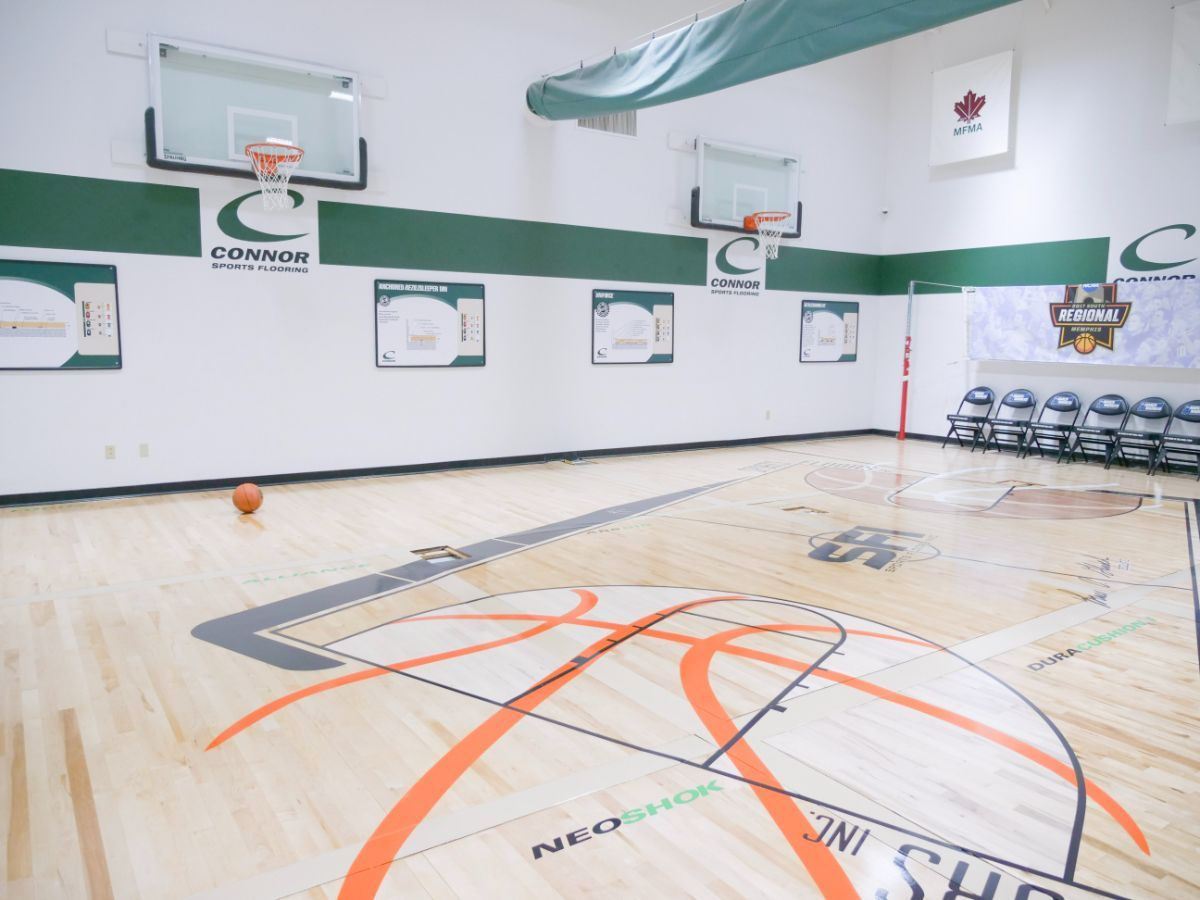 The History of Basketball Courts